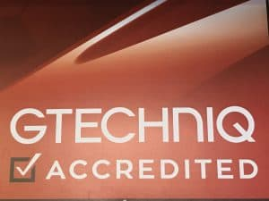 gtechniq accredited sticker
