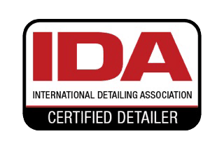 IDA certified detailer sticker for international detailing association