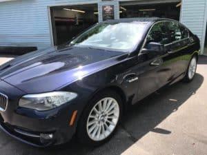 BMW Exterior Paint Correction DiFiore's Auto Detailing
